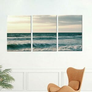 Tryptich Ocean Canvas Wall Art