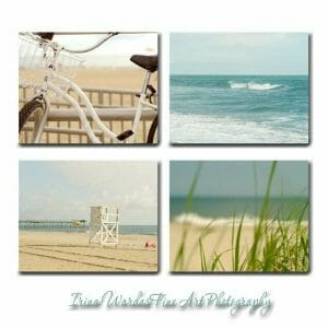 4 Piece Beach Wall Art Set