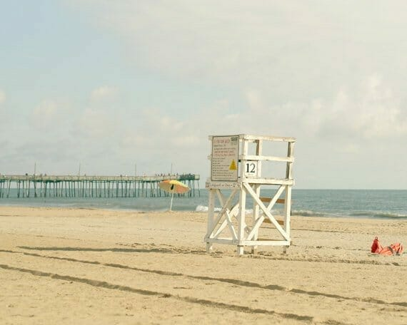 4 Piece Beach Wall Art Set | Coastal Wall Art | Beach House Decor