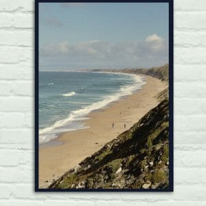 Pacific Coast Ocean Waves | Large Nautical Wall Art | Monterey Bay Wall Decor