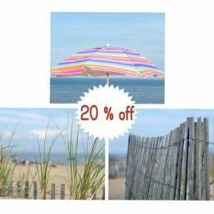 3 Piece Coastal Beach Wall Art Set