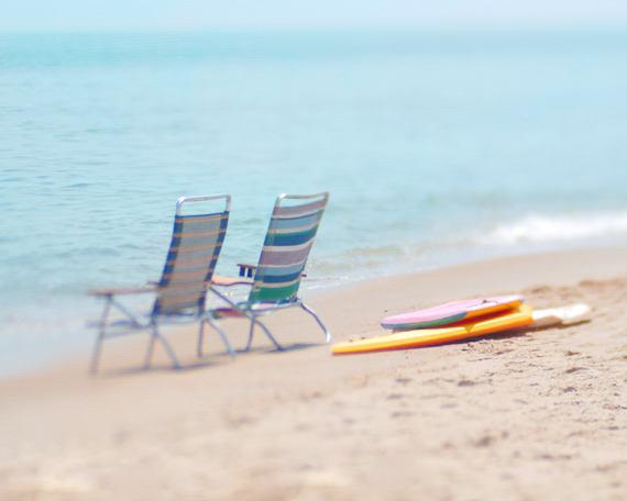 Beach Chair Wall Art
