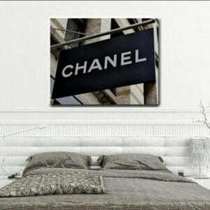 Chanel Wall Art | Coco Chanel Shop Sign | Chanel Wall Decor