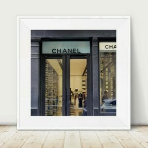 New York Paris Fashion Wall Art