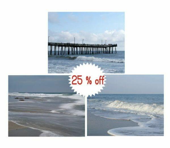 Coastal Photography Set of 3 | Nautical Wall Decor | Virginia Beach Wall Art