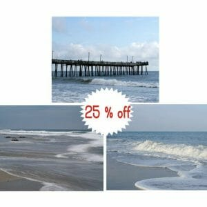 Coastal Photography Set | Nautical Wall Decor | Virginia Beach Wall Art