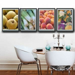 Vegetable and Fruit Wall Art Set