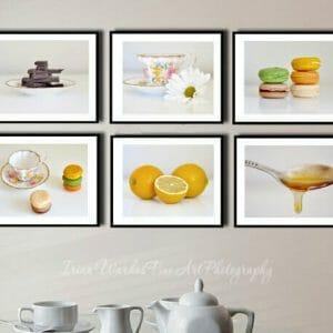 Food Wall Art Set of 6