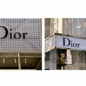 Fashion Wall Decor | Dior Wall Art | French Paris Fashion Store Wall Art