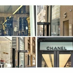 New York City Fashion Designers Wall Art | Fashion Store Sign Wall Art