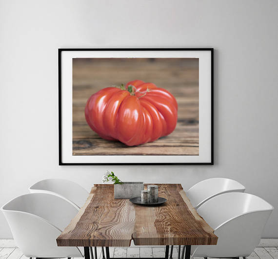 Tomato Wall Art | Vegetables Wall Art | Food Wall Decor