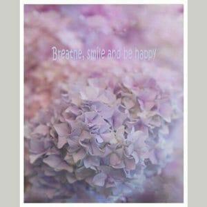 Hydrangea Flower Wall Art