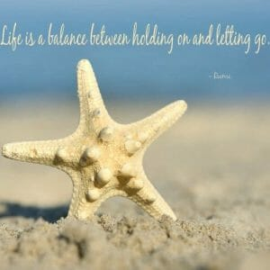 Inspirational Starfish Wall Decor