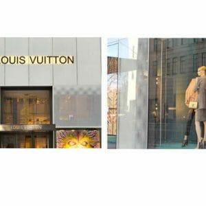 Louis Vuitton Shop Wall Art | Manhattan Fashion Wall Decor