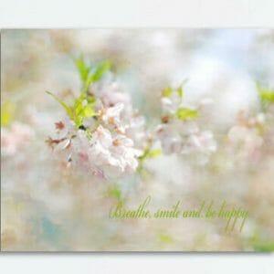 Spring Cherry Blossom Wall Art