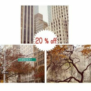 NYC Wall Art | Upper East Side | Fifth Avenue | Park Avenue
