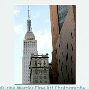 Empire State Building | Manhattan Vertical Architecture Wall Art