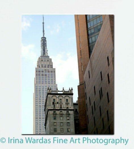 Empire State Building | Manhattan Vertical Architecture Wall Art