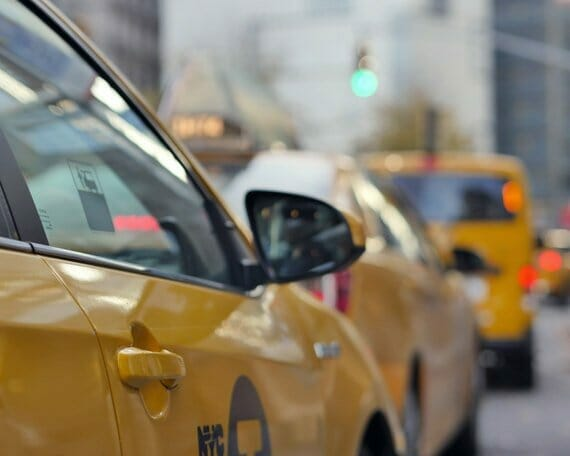 NYC Taxi Wall Art