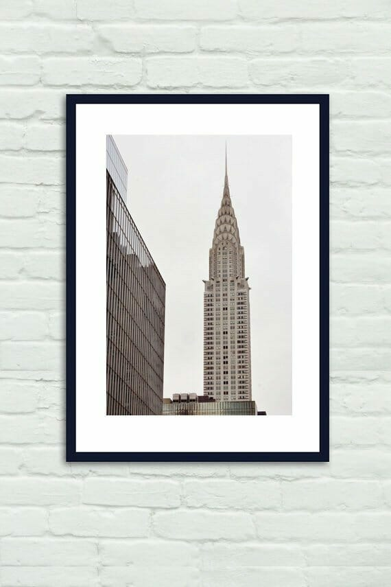 Chrysler Building Wall Decor