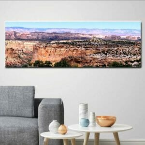 Utah Red Canyon Panoramic Wall Decorw