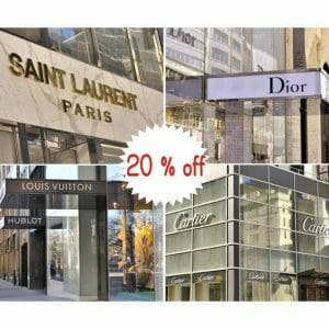 Fashion Store Wall Decor | Dior, Louis Vuitton, Saint Lauren, Cartier
