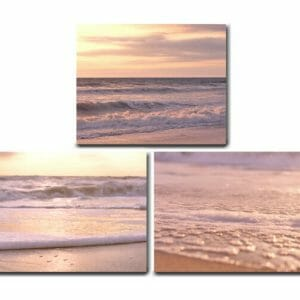 Beach Sunset Wall Art