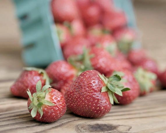 Strawberry Wall Art