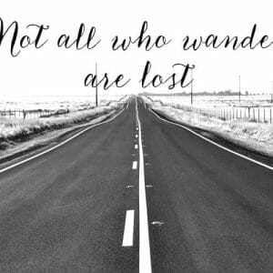 Open Road Photography Print | Tolkien Quote Wall Art | Tolkien Wall Art
