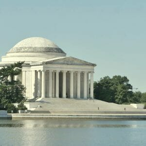 Washington DC Travel Wall Art | Jefferson Memorial | DC Architecture