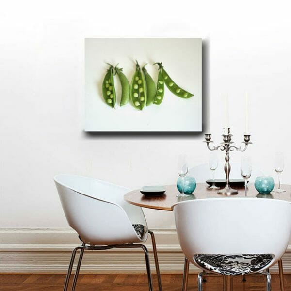 Vegetable Print | Dining Room Wall Art | Large Kitchen Wall Decor | Food Still Life Photo